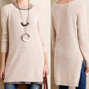 Moth Pasadena Ribbed Tunic Sweater